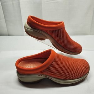 Merrell Encore Breeze 3 Slip-on Shoe Woman's Size 6.5 Spicy Orange Mesh
